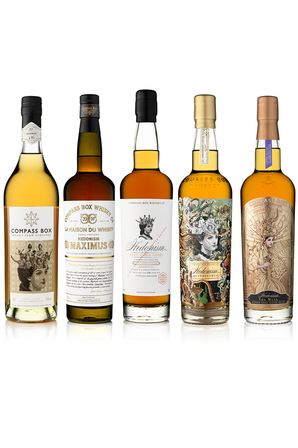 Compass Box The Hedonism Collection
